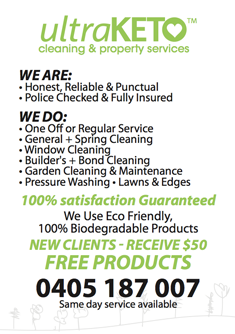 UltraKeto Cleaning and Property Services Macleod